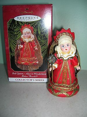 Hallmark Madame Alexander doll ornament series #4 Red Queen dated 1999   New