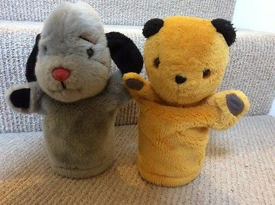 Sooty & Sweep hand puppets