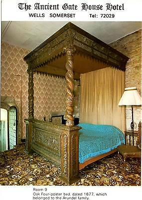 Ancient Gate House Hotel - Wells - Somerset - Room 9 - Postcard