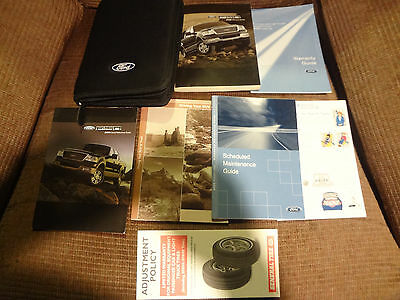 2005 Ford F150 Owners Manual Set