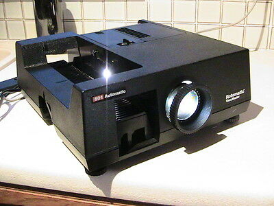 ROTOMATIC View master Mod 501 Slide projector & REMOTE LEAD Working Original Box