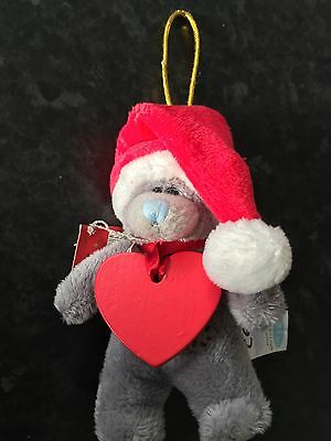 "Hannah - New Bnwt Me To You 4"" Soft Plush Bear Xmas Tree Hanging Decoration"