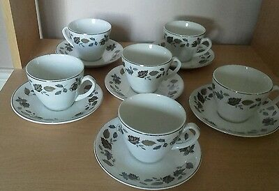 Alfred Meakin Springwood Teacups and Saucers