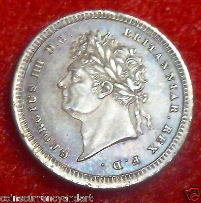 Rainbow Toned Great Britain 2 Pence 1830  Maundy money - Two Pence