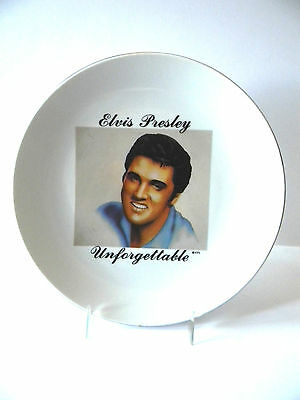 """Elvis Presley COLLECTOR PLATE Unforgettable North Hollywood Cali. 1960 81/3"""""""