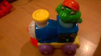 Children's Leap Frog push and go musical train