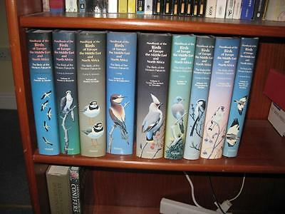 Handbook of the Birds of Europe, the Middle East, and North Africa: Vols 1-9