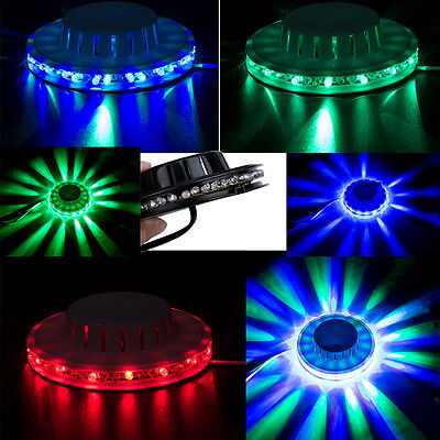 2 Set 48 LED RGB Stage Light Effect Bar Party DJ Lighting Auto/Voice-activated