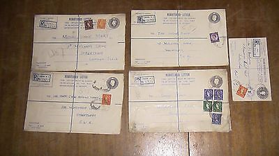 Five Registered Letters from the 1950's