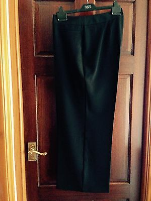Ladies Marks & Spencer  Black Suit / Evening Quality Trousers / Size 18 Short