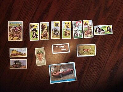 Selection of Vintage Collecters Cards