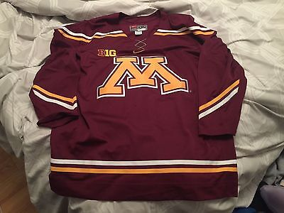 Minnesota Golden Gophers Nike Away Jersey (XXL, Dark, Blank)