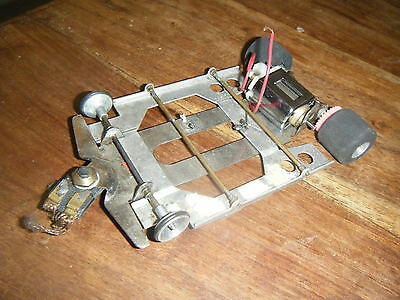 Parma Cox Slot Car Metal Chassis 1/24 Scale - untested