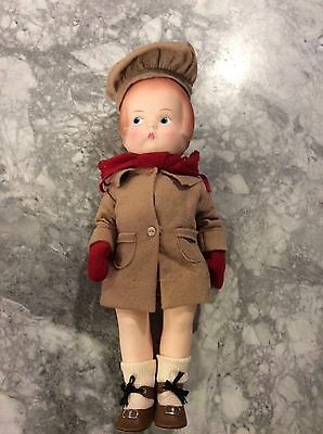 """Vintage 1986 """"patsy"""" Doll Effanbee 14"""" Great Condition!"""