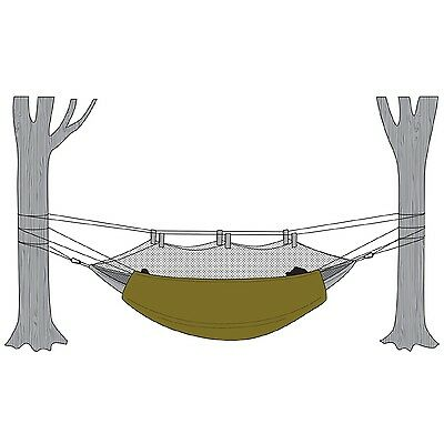Snugpak 61700 Hammock Under Blanket with Travelsoft Filling-Olive