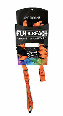 REECOIL Full Reach Chainsaw Lanyard for Tree Climbing Arborist