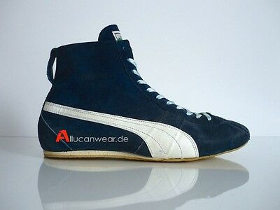 70`s Vintage Puma Special Wrestling Hi Shoes Tops Boots 80`s Freestyle W Germany