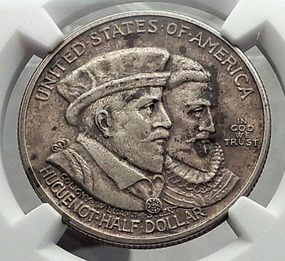 1924 NEW NETHERLANDS / New York Commemorative Half Dollar NGC Certified i58122