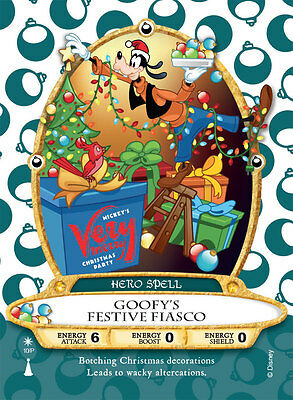 Mickeys Very Merry Christmas Party Sorcerers Of The Magic Kingdom Card  2016