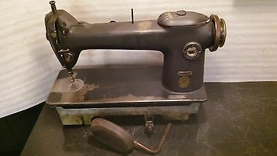 Industrial Singer sewing machine vintage heavy duty commercial