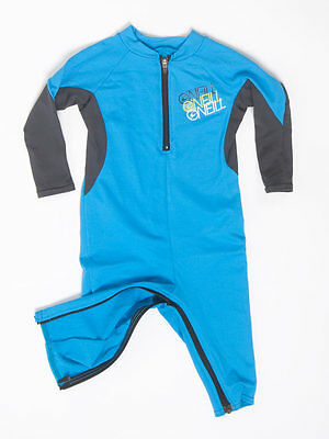 O'Neill Infant One-Piece Swim Suit, Full Body Sun Protection SPF, Size 12 month