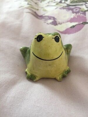 Philip Laureston Large Frog - Babbacombe Pottery - Rare Early Version