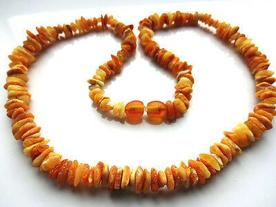 100% genuine Baltic amber necklace medicated adults 17.3 inch