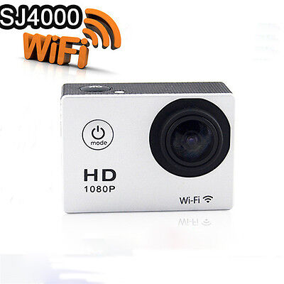"SJ4000 WIFI 1080P Sports Action Mini 2"" Camera Full HD Bike Helmet Camcorder  UK"
