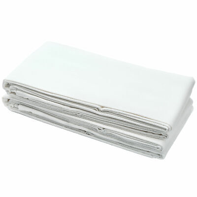 2x Cotton Jersey Fitted Sheet 100% Cotton 120cm x 60cm White