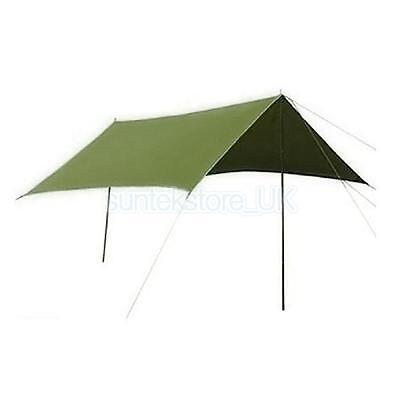 Large Ultralight Camping Awning Tarp Trail Tent Shelter Bivi Basha Outdoor