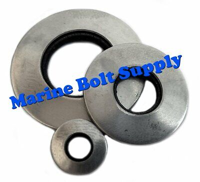 "Type 18-8 Stainless Steel Neoprene Bonded Sealing Washers (Sizes #6 to 1/2"")"