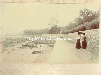 Appley Tower. Ryde, Isle of Wight.  Original 1890s Photograph