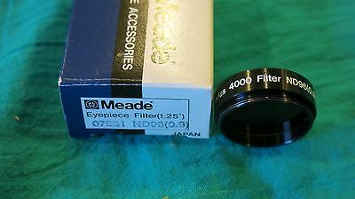 """Meade Eyepiece Filter (1.25"""") ND96 (0.9) In Box"""