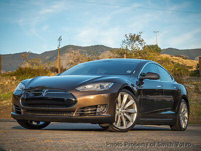2013 Tesla Model S 4dr Sedan Performance 2013 Tesla Model S P85