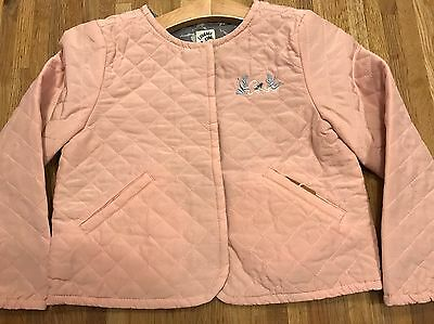 Ideal Christmas Gift: Disney Luxe Courage & Kind Reverse Silk Jacket BNWT £80