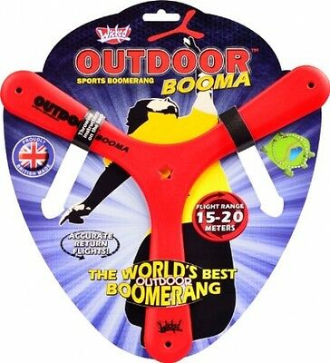 Wicked Outdoor Booma ORIGINAL BOOMERANG FREE Delivery FAST Dispatch UK Seller
