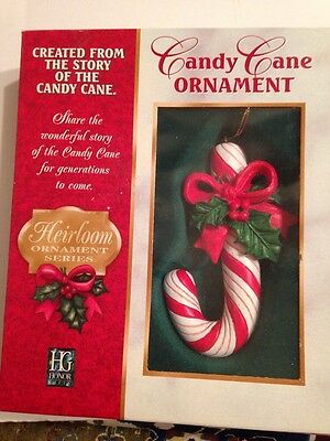 Heirloom Honor Gifts Candy Cane Ornament