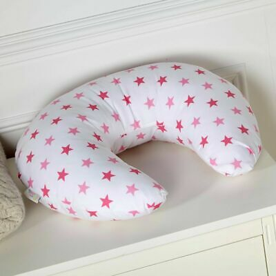 Breast Feeding Nursing U Pillow Little Star Pink