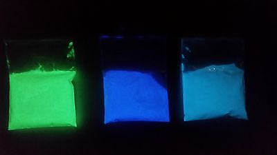 Glow in the Dark Pigment - Photo Luminescent Powder 10g Green Pigment