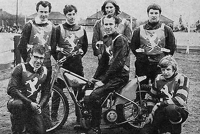 Doncaster Stallions 1969 Speedway Team Photograph