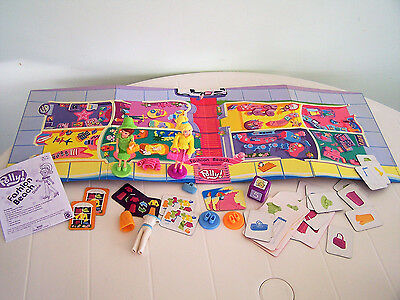 Polly Pocket Fashion Beach Game Dolls Clothes Outfits Complete