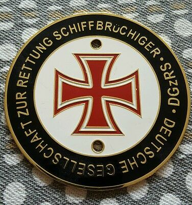 German red Cross plaque medallion