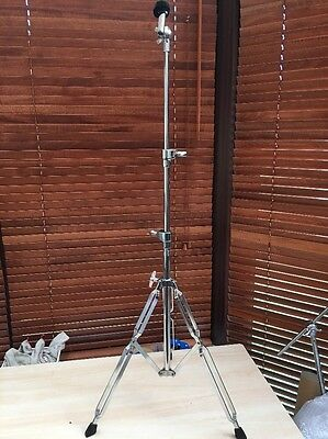 Double Braced Straight Cymbal Stand Ex Condition Cheap P&P