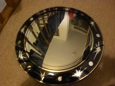 Mid Century 1950s 1960s Domed Convex wall Mirror