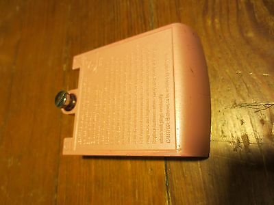"""Leap Frog Leapster or Leapster L-Max Battery Replacement Cover Pink """"4 AA"""""""