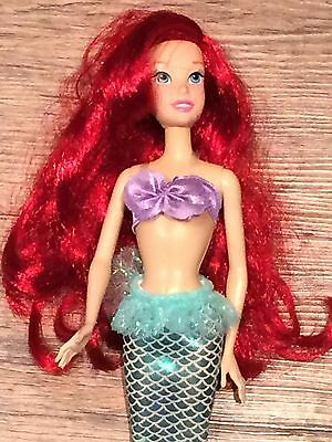 Disney Store Little Mermaid Ariel Doll (30cm) - Barely Used Great Condition