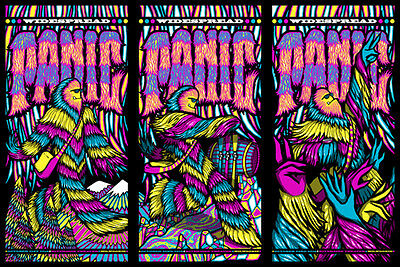 Widespread Panic 2016 Milwaukee WI Uncut Poster Signed & Numbered #/100 A/E