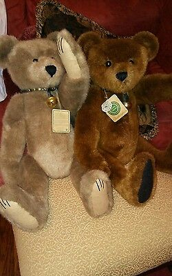 """Boyds Bears #2Teddy With Jingle Bell Collar 23""""  Archive Collection Holiday Gift"""