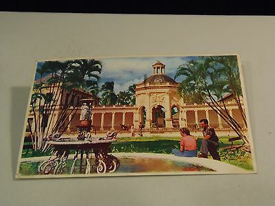 Rodney's Memorial at Old Capital Spanish Town, Jamaica Postcard with Stamps