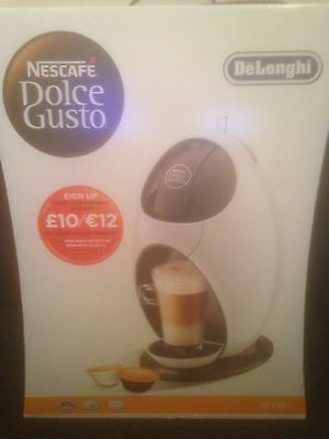 DeLonghi Nescafe Dolce Gusto Jovia EDG 250.W Capsule Coffee Machine White